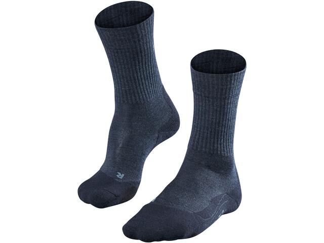 Falke TK2 Wool Skarpetki trekkingowe Mężczyźni, jeans